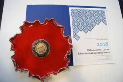 Eesti Kultuurkapitali Jõgevamaa Ekspertgrupp tunnustas aastapreemia 2018 muuseumi kaasaegse külastuseksuse loomise eest
