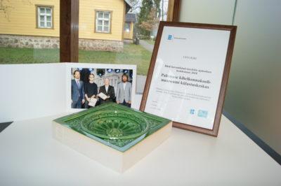 Muinsuskaitseameti tunnustus 2018